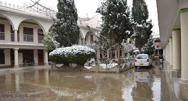 برف باری در شهر کویته