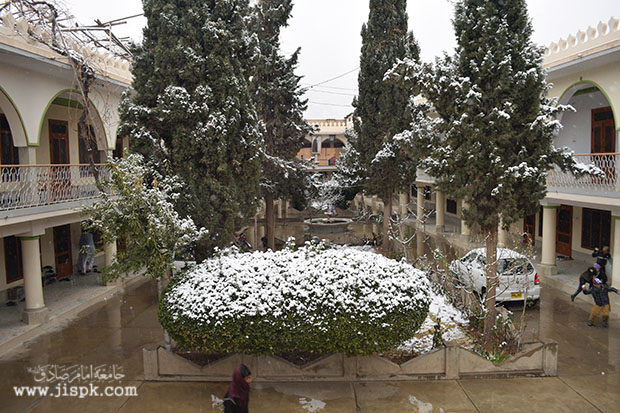 برفبار در کویته پاکستان