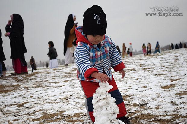 snow fall in Quetta