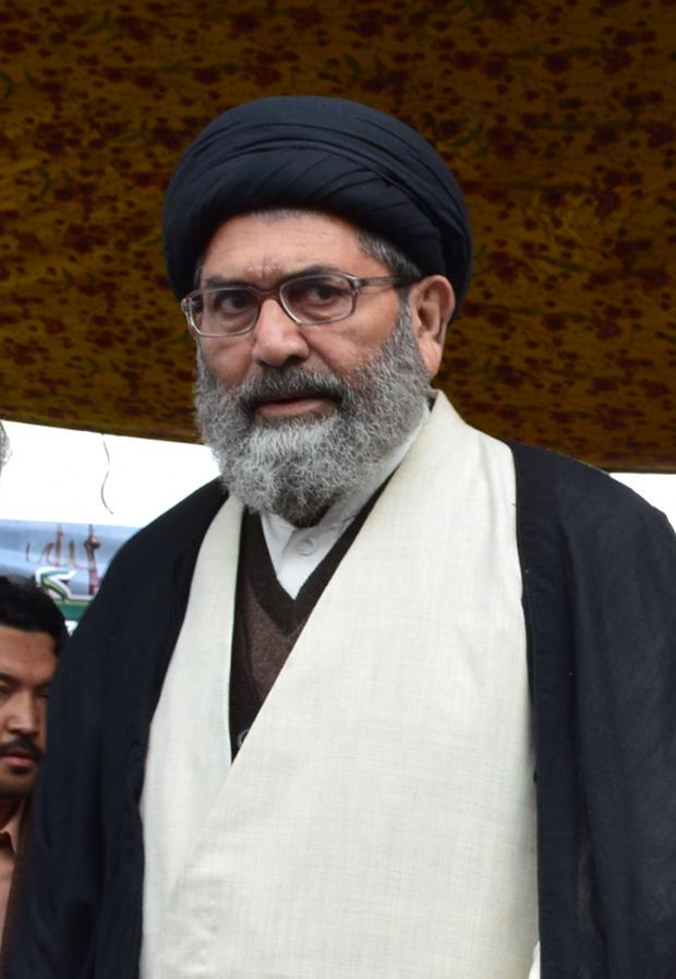 علامه ساجد علی نقوی  - رهبر ملت جعفریه پاکستان