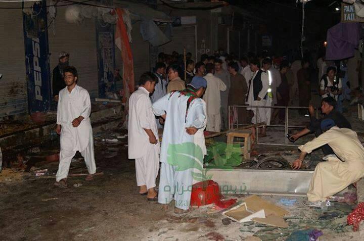 کویته: دو انفجار متوالی در هزاره تاون 28 شهید و بیش از 60 زخمی بر جای گذاشت